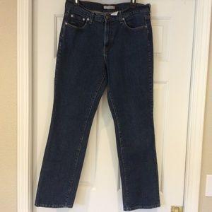 Levis 505 Straight Leg Stretch Jeans Womens Sz 12